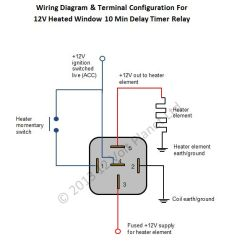 Dayton Timer Relay Wiring Diagram Warn Winch 4 Solenoid Jua Schullieder De 12v Universal Window Heater 12 Volt Planet Rh 12voltplanet Co Uk Timing